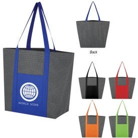 Non-Woven Honeycomb Mesh Tote Bag