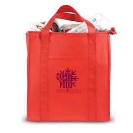 Non Woven Insulated Shopping Tote Imprinted with Your Logo