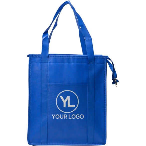 Reflex Blue Non-Woven Insulated Tote Bag