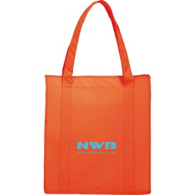 Non-Woven Insulated Tote Imprinted with Your Logo