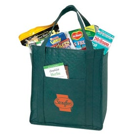 Non Woven Insulated Zipper Tote Giveaways