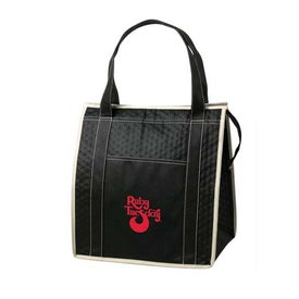 Non Woven Insulated Zipper Tote for Your Company