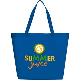 Non-Woven Large Boat Tote with Your Slogan
