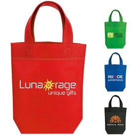 Non-Woven Little Gift Tote with Your Slogan