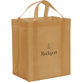 Branded Non-Woven Reusable Grocery Tote