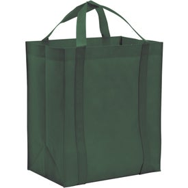 Non-Woven Reusable Grocery Tote with Your Slogan