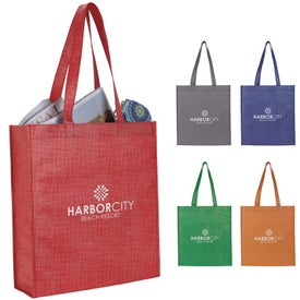 Non-Woven Shimmer Tote Bags