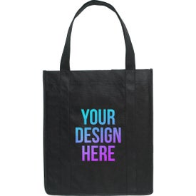 Non-Woven Shopper Tote Bags (Full Color Logo)