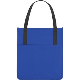 Non-Woven Shopper's Pocket Tote Bag for Promotion