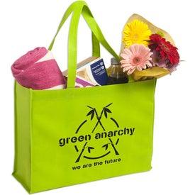 Monogrammed Non-Woven Shopping Tote Bag