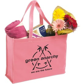 Non-Woven Shopping Tote Bag with Your Slogan