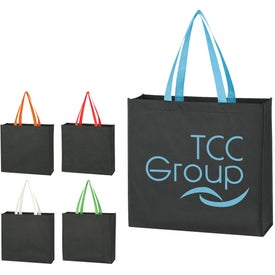 Water-Resistant Non-Woven Tote Bag