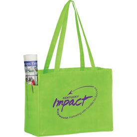Non-Woven Tote Bags with Side Pockets
