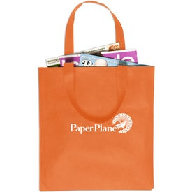 Non-Woven Value Tote Bag Printed with Your Logo