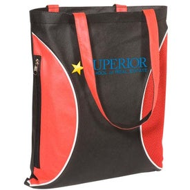 Non-Woven Zipper Side Tote - 100GSM for Customization