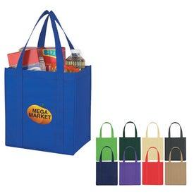 Non Woven Avenue Shopper Tote Bag