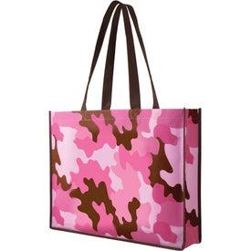 Branded Non Woven Camo Tote Bag
