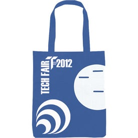 Branded Non-Woven Circle Pocket Tote