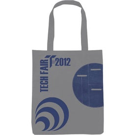 Non-Woven Circle Pocket Tote for Customization