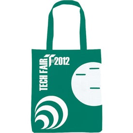 Non-Woven Circle Pocket Tote for Promotion
