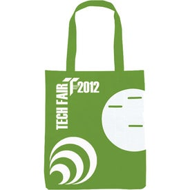 Logo Non-Woven Circle Pocket Tote