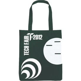 Imprinted Non-Woven Circle Pocket Tote
