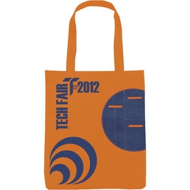 Non-Woven Circle Pocket Tote for Marketing