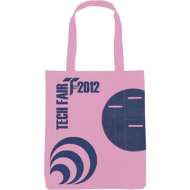 Non-Woven Circle Pocket Tote Giveaways