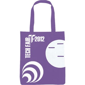 Customized Non-Woven Circle Pocket Tote