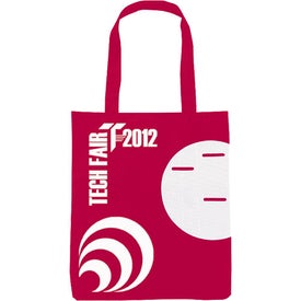 Non-Woven Circle Pocket Tote Printed with Your Logo
