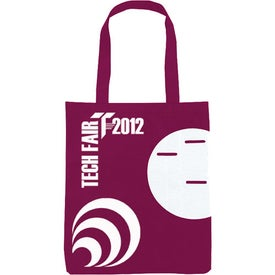 Non-Woven Circle Pocket Tote with Your Logo