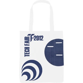 Advertising Non-Woven Circle Pocket Tote