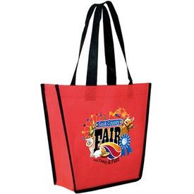 Logo Non-Woven Fiesta Tote Bag
