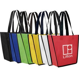 Customized Non-Woven Fiesta Tote Bag