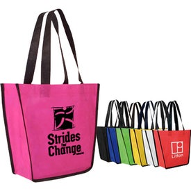 Non-Woven Fiesta Tote Bag Branded with Your Logo