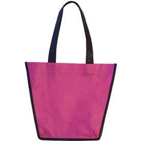 Non-Woven Fiesta Tote Bag Imprinted with Your Logo