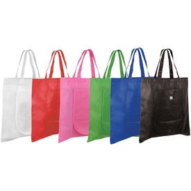Non Woven Fold and Go Tote Bag for Customization