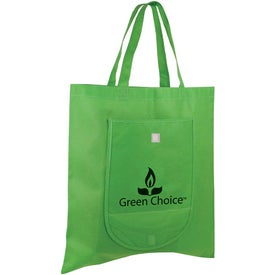 Non Woven Fold and Go Tote Bag Giveaways