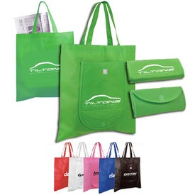 Non Woven Fold and Go Tote Bag (Screen Print)