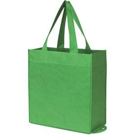 Monogrammed Non-Woven Foldable Shopper Tote Bag