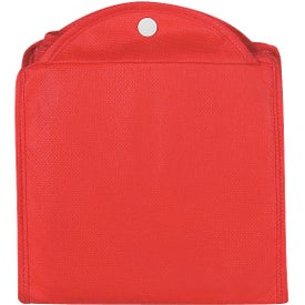 Non-Woven Foldable Shopper Tote Bag Imprinted with Your Logo