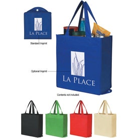 Non-Woven Foldable Shopper Tote Bag