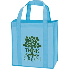 Non-Woven Grocery Tote Branded with Your Logo