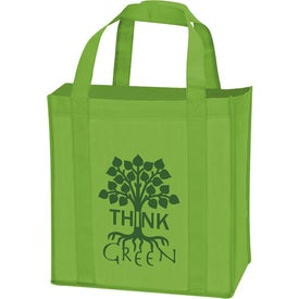 Non-Woven Grocery Tote with Your Logo