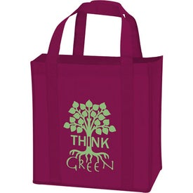 Branded Non-Woven Grocery Tote
