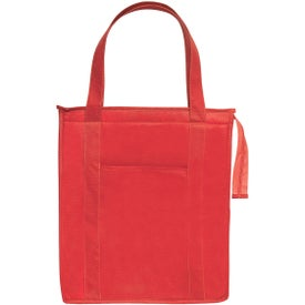 Non-woven Insulated Shopper Tote Bag Printed with Your Logo