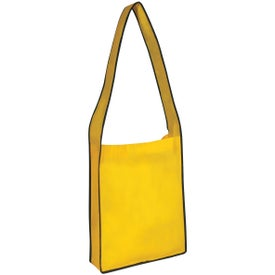 Non-woven Messenger Tote with Velcro Closure for Your Church