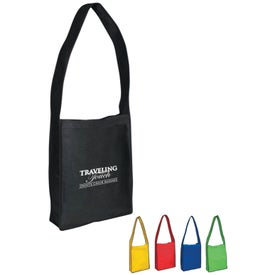 Non-woven Messenger Tote with Velcro Closure