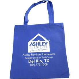 Non-Woven Promotional Tote Bag Giveaways