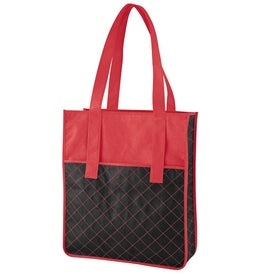 Custom Nonwoven Quilted Shopper Tote